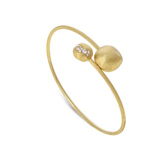 Marco Bicego 18ct Gold 0.25ct Diamond Africa Bangle - Product number 8139261