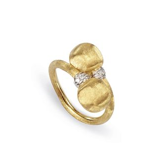 Marco Bicego 18ct Yellow Gold Africa Diamond Ring - Product number 8139288