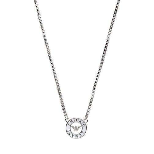 Emporio Armani Ladies' Sterling Silver Necklace - Product number 8139458