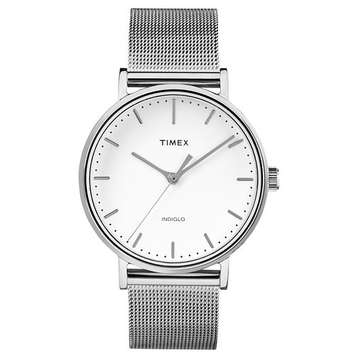 Timex Ladies' Fairfield Stainless Steel Mesh Bracelet Watch - Product number 8139997