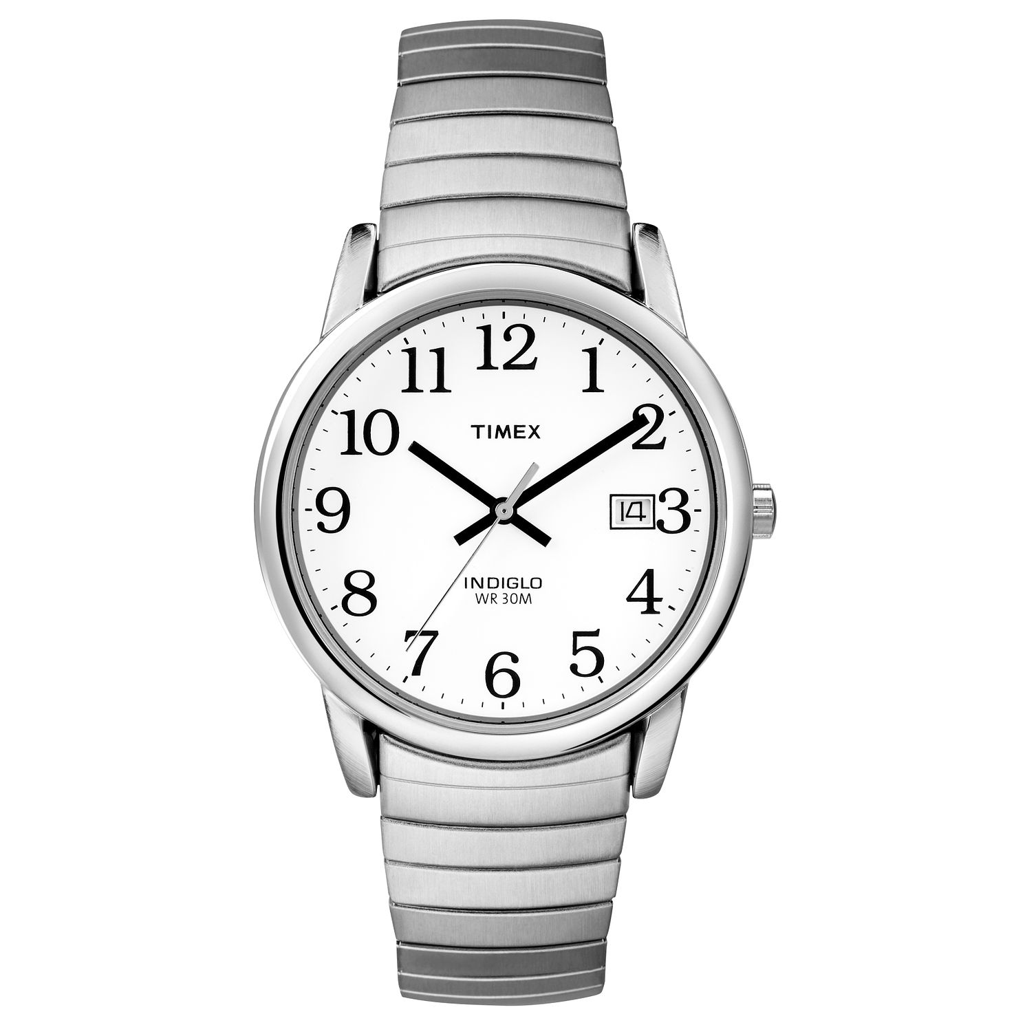 Timex Men's Easy Reader Stainless Steel Bracelet Watch - Product number 8140677