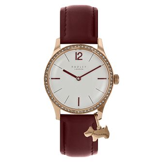 Radley Ladies' Brown Leather Strap Watch - Product number 8140707