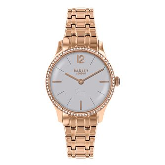 Radley Ladies' Rose Gold Plated Bracelet Watch - Product number 8140839