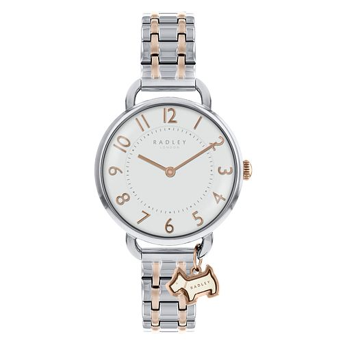 Radley Ladies' Two Tone Stainless Steel Bracelet Watch - Product number 8140928