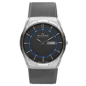 Skagen Melbye Men's Stainless Steel Mesh Bracelet Watch - Product number 8144834