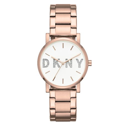 35d76cc1717 DKNY SoHo Ladies  Rose Gold Stainless Steel Bracelet Watch - Product number  8144958