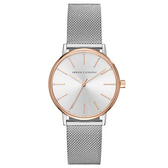 Armani Exchange Ladies' Stainless Steel Bracelet Watch - Product number 8145032