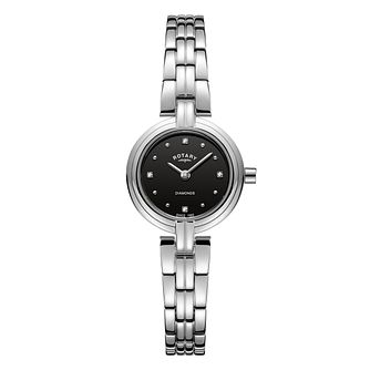 Rotary Ladies' Diamond Stainless Steel Bracelet Watch - Product number 8147604