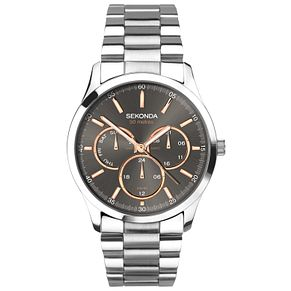 Sekonda Men's Stainless Steel Bracelet Watch - Product number 8151229
