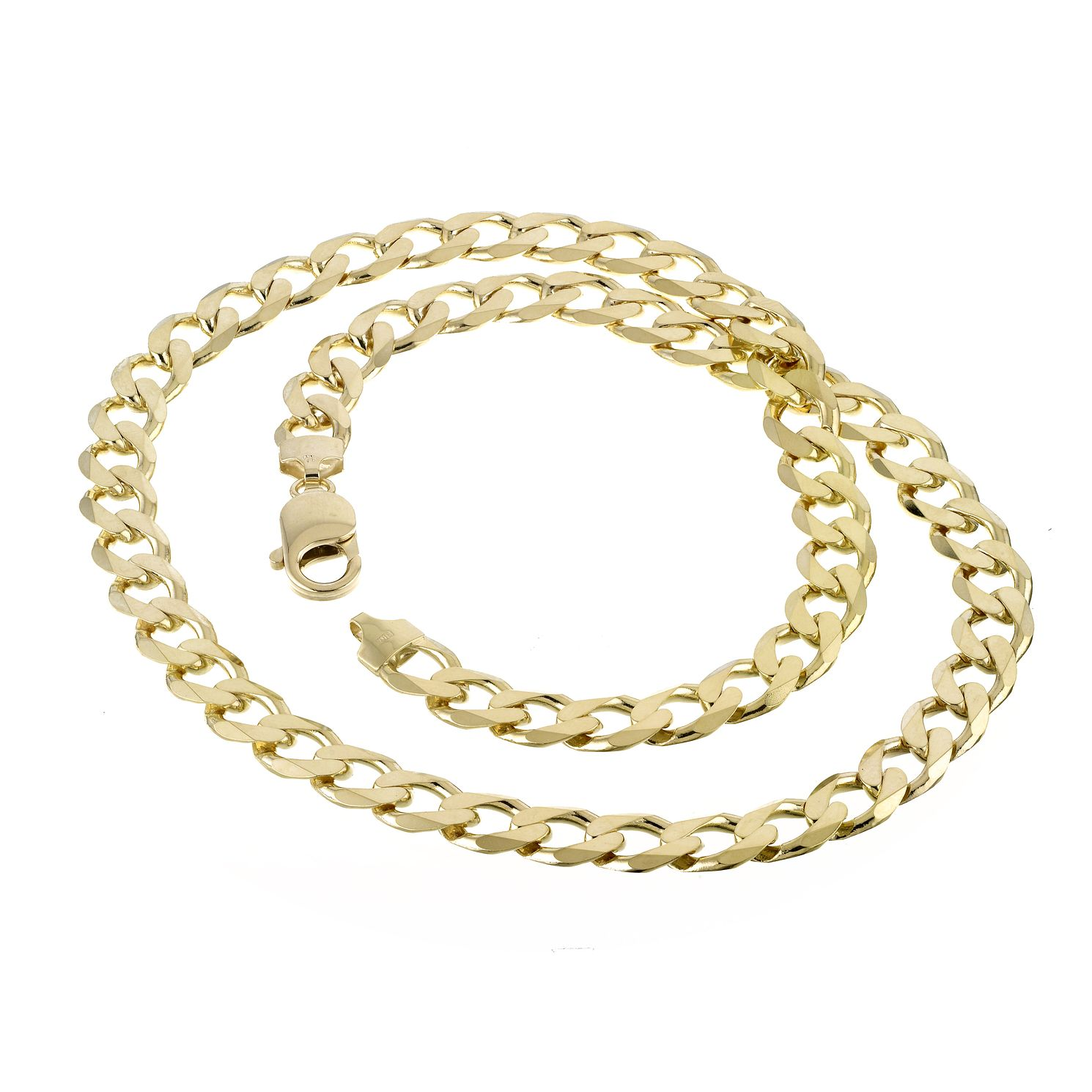 9ct Yellow Gold 20 Inch Curb Chain - Product number 8151393