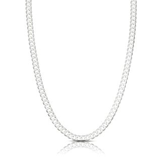 Sterling Silver 20 Inch Flat Curb Chain - Product number 8153213