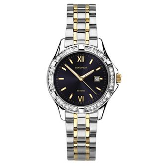 Sekonda Ladies' Two Tone Stainless Steel Bracelet Watch - Product number 8153957