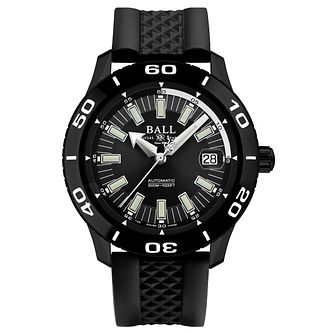 Ball Fireman NECC Men's Ion Plated Black Strap Watch - Product number 8154074
