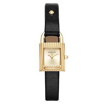 Michael Kors Isadore Ladies' Yellow Gold Tone Strap Watch - Product number 8154201