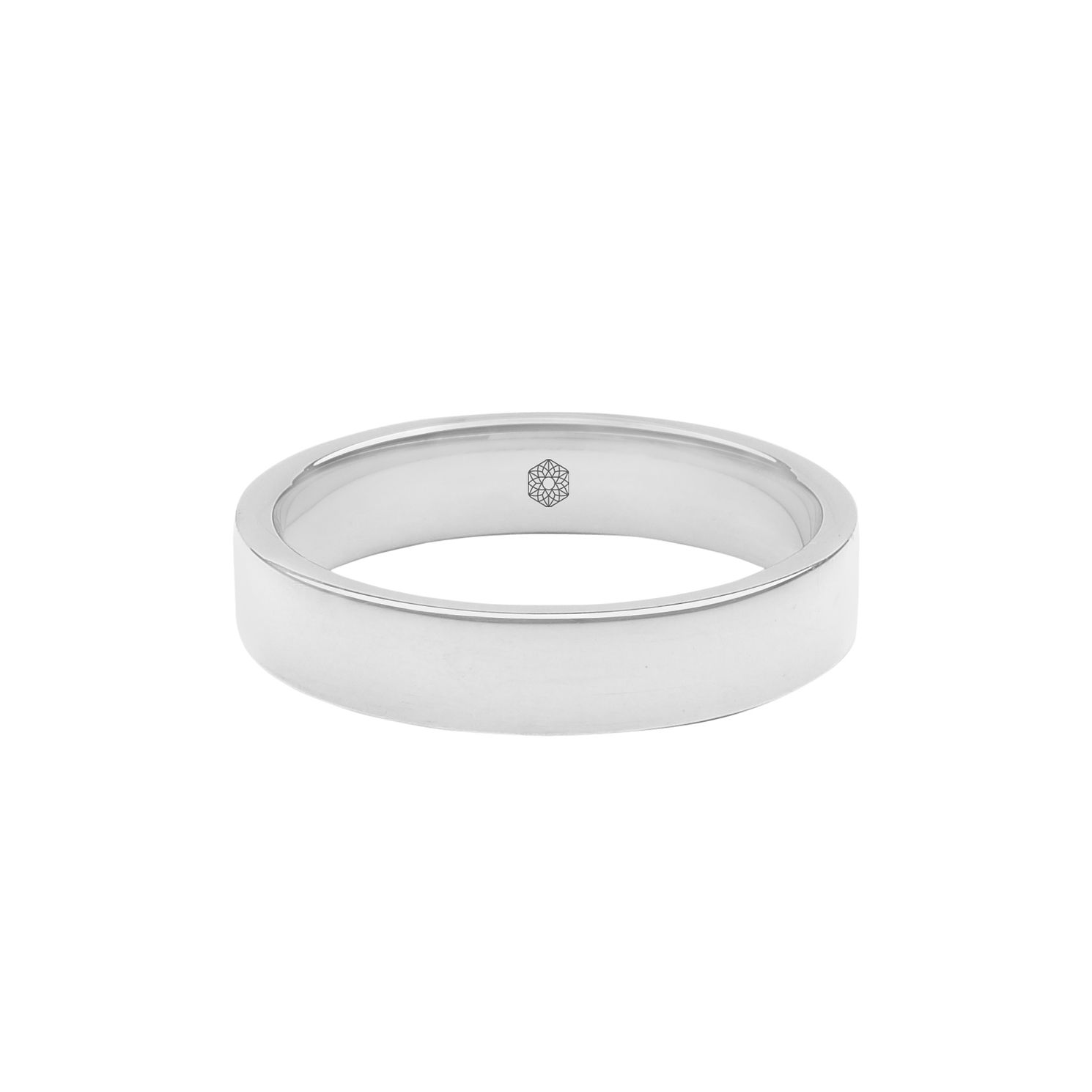 Baird Mint 18ct White Gold Arctic 4mm Flat Ring - Product number 8154597