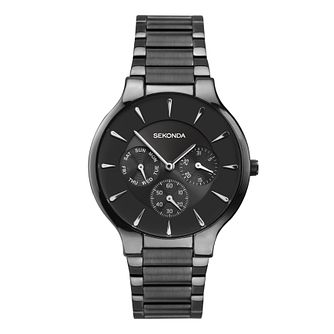 Sekonda Men's Black Stainless Steel Bracelet Watch - Product number 8158622