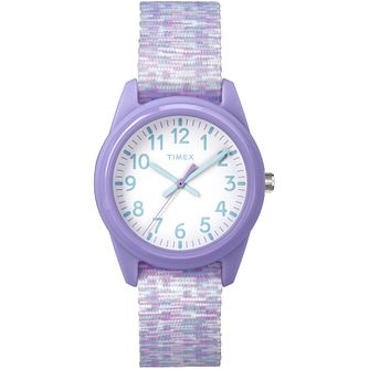 Timex Kids Time Machines Purple Nylon Strap Watch - Product number 8163545