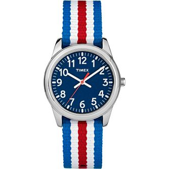Timex Kids Time Machines Nylon Strap Watch - Product number 8163561