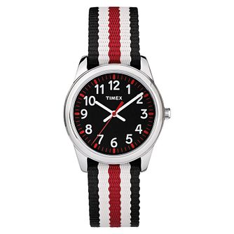 Timex Kids Multi-Coloured Nylon Strap Watch - Product number 8163596