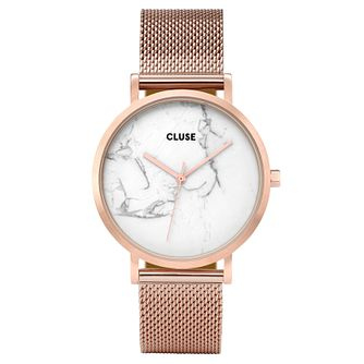 Cluse Ladies' La Roche Rose Gold Mesh Bracelet Watch - Product number 8164835