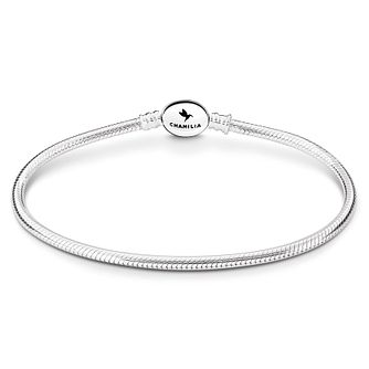Chamilia Sterling Silver Oval Snap 9.1in Bracelet - Product number 8180938
