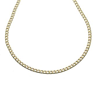 9ct Yellow Gold 20 Inch Curb Chain - Product number 8181268