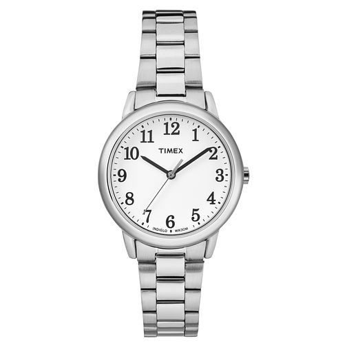 Timex Ladies' Easy Reader Silver Tone Bracelet Watch - Product number 8193320