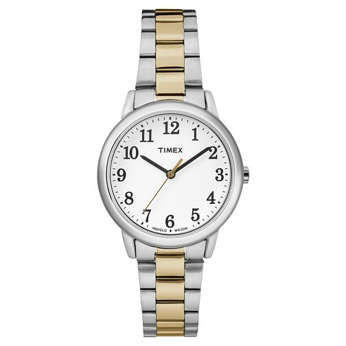 Timex Ladies' Easy Reader Two Tone Bracelet Watch - Product number 8193347