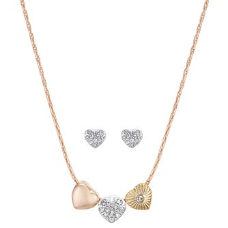Buckley London With Love Heart Earring & Necklace Gift Set - Product number 8193533