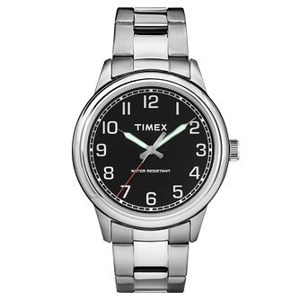Timex Men's Heritage Stainless Steel Bracelet Watch - Product number 8194882