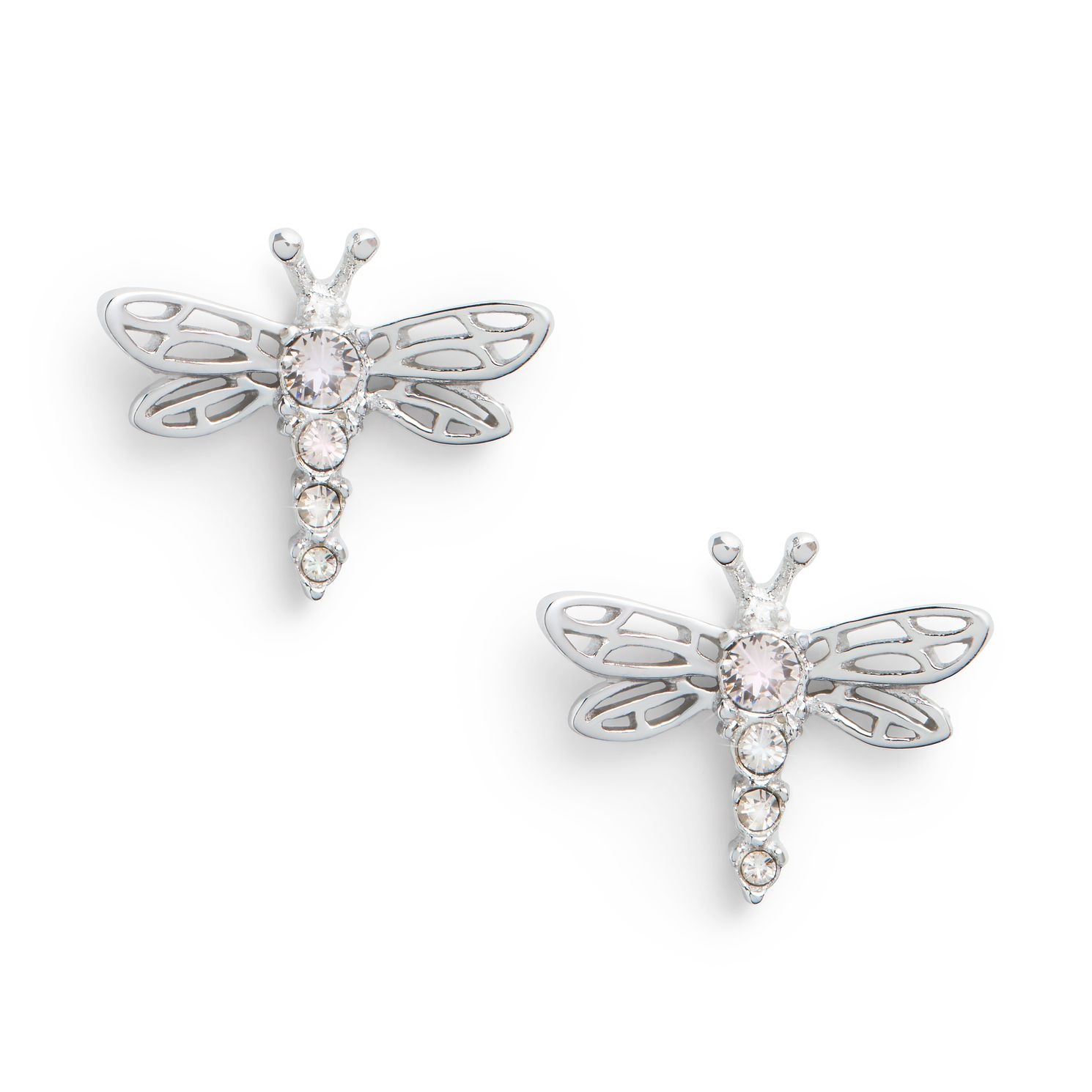 Olivia Burton Dancing Dragonfly Silver Stud Earrings - Product number 8197342