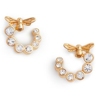 Olivia Burton Bejewelled Lucky Bee Gold Tone Stud Earrings - Product number 8197369