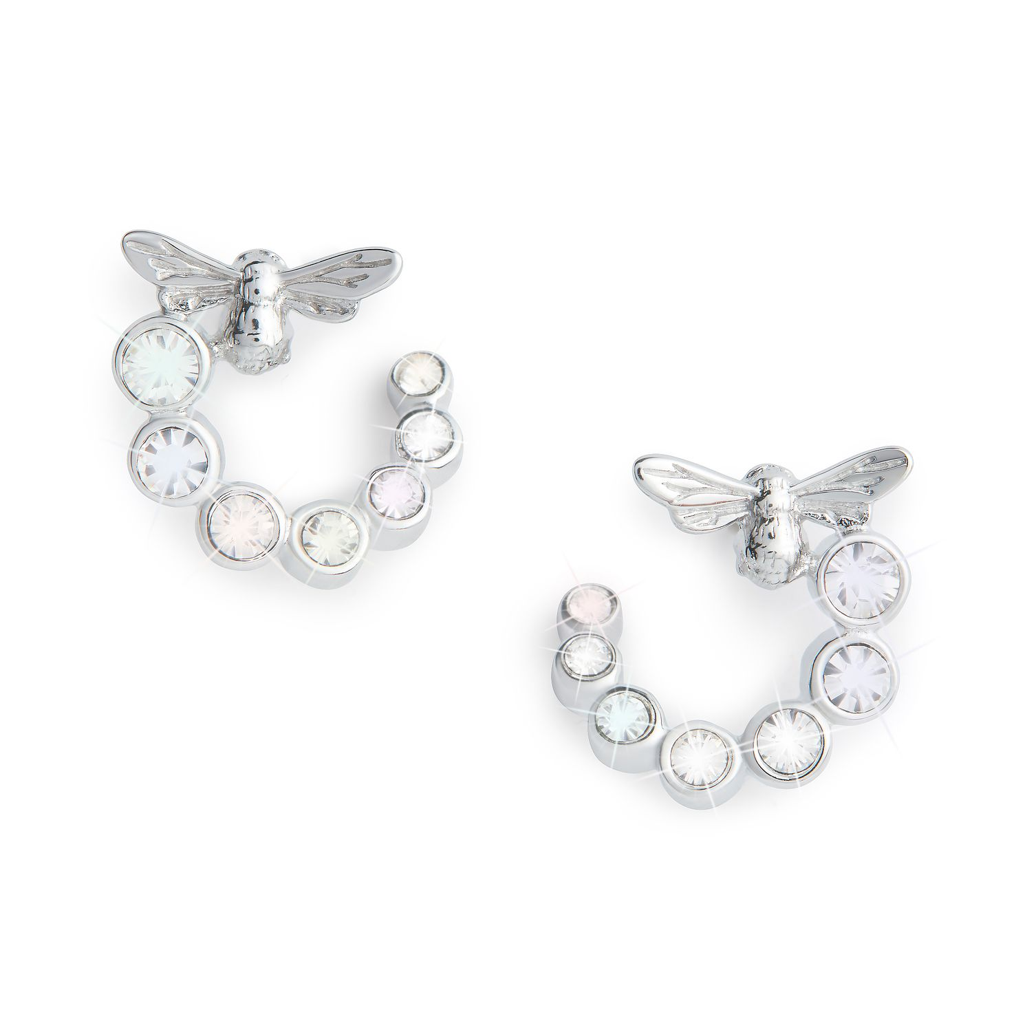 Olivia Burton Bejewelled Lucky Bee Silver Stud Earrings - Product number 8197385