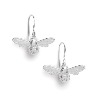 Olivia Burton Lucky Bee Silver Drop Earrings - Product number 8197520