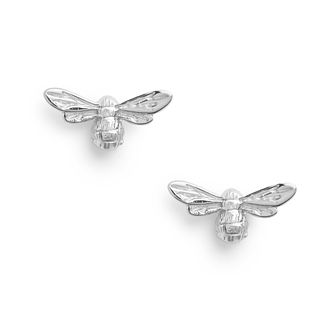 Olivia Burton Lucky Bee Silver Stud Earrings - Product number 8199442