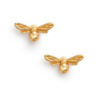 Olivia Burton Lucky Bee Yellow Gold Tone Stud Earrings - Product number 8199450