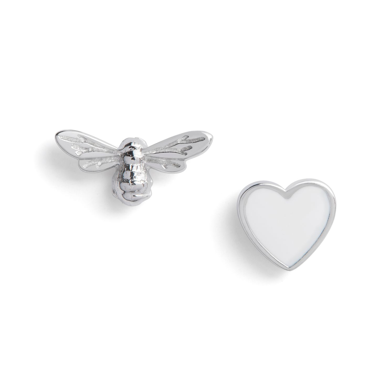 Olivia Burton You Have My Heart Silver Stud Earrings - Product number 8199612