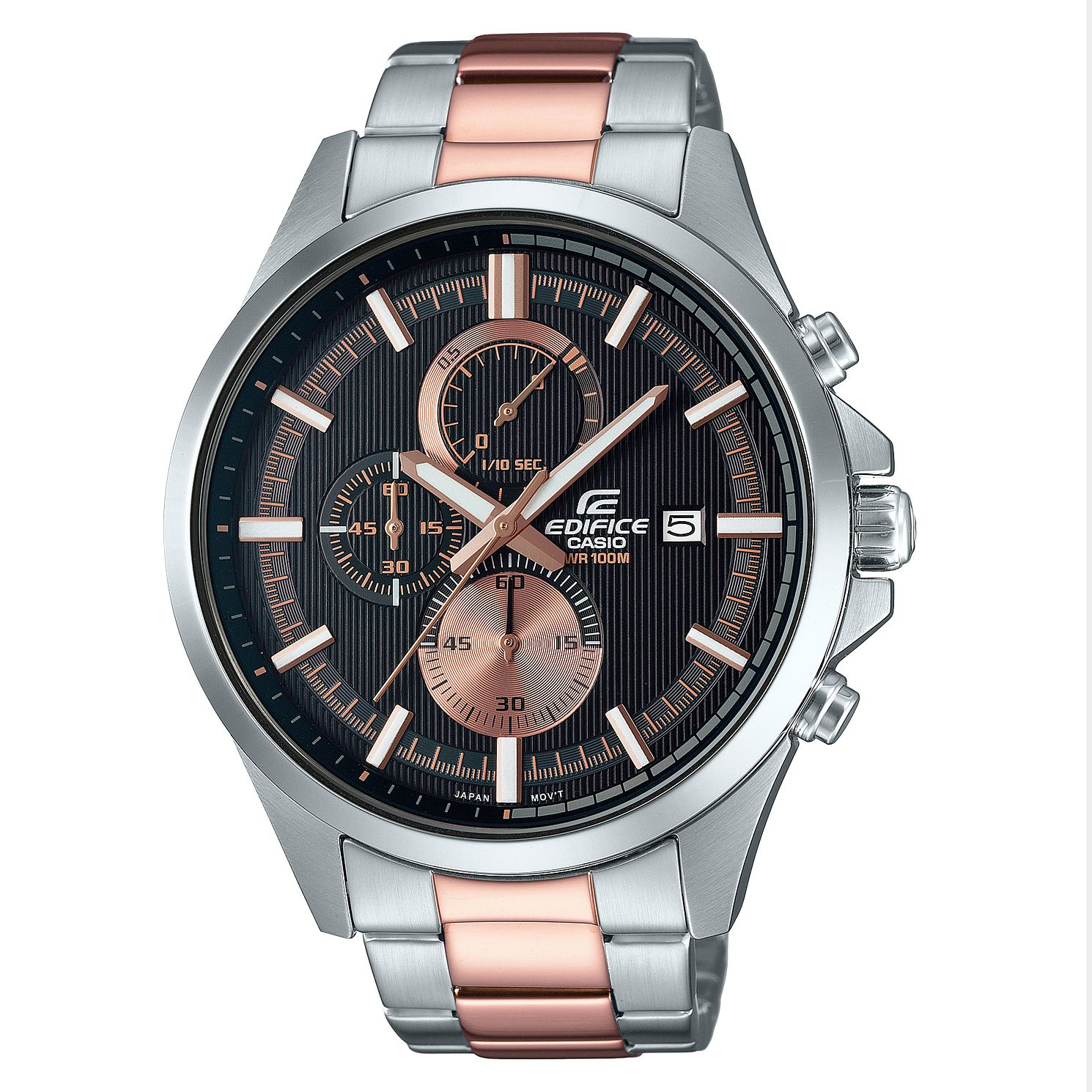 Casio Edifice Men's Two Tone Stainless Steel Bracelet Watch - Product number 8200165
