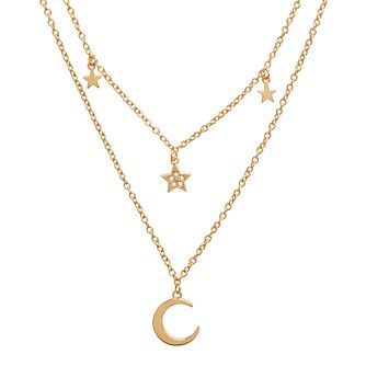 Olivia Burton Celestial Gold Tone Double Strand Necklace - Product number 8200637