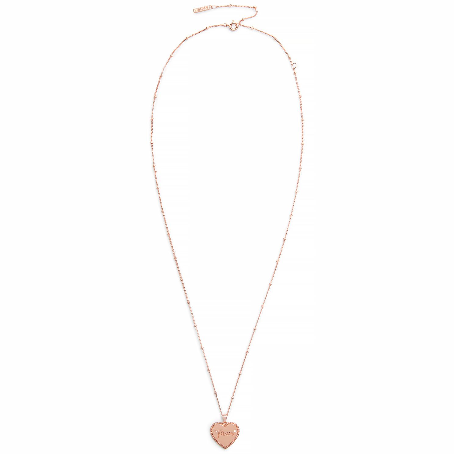 Olivia Burton Made for Mum Rose Gold Tone Necklace - Product number 8204624