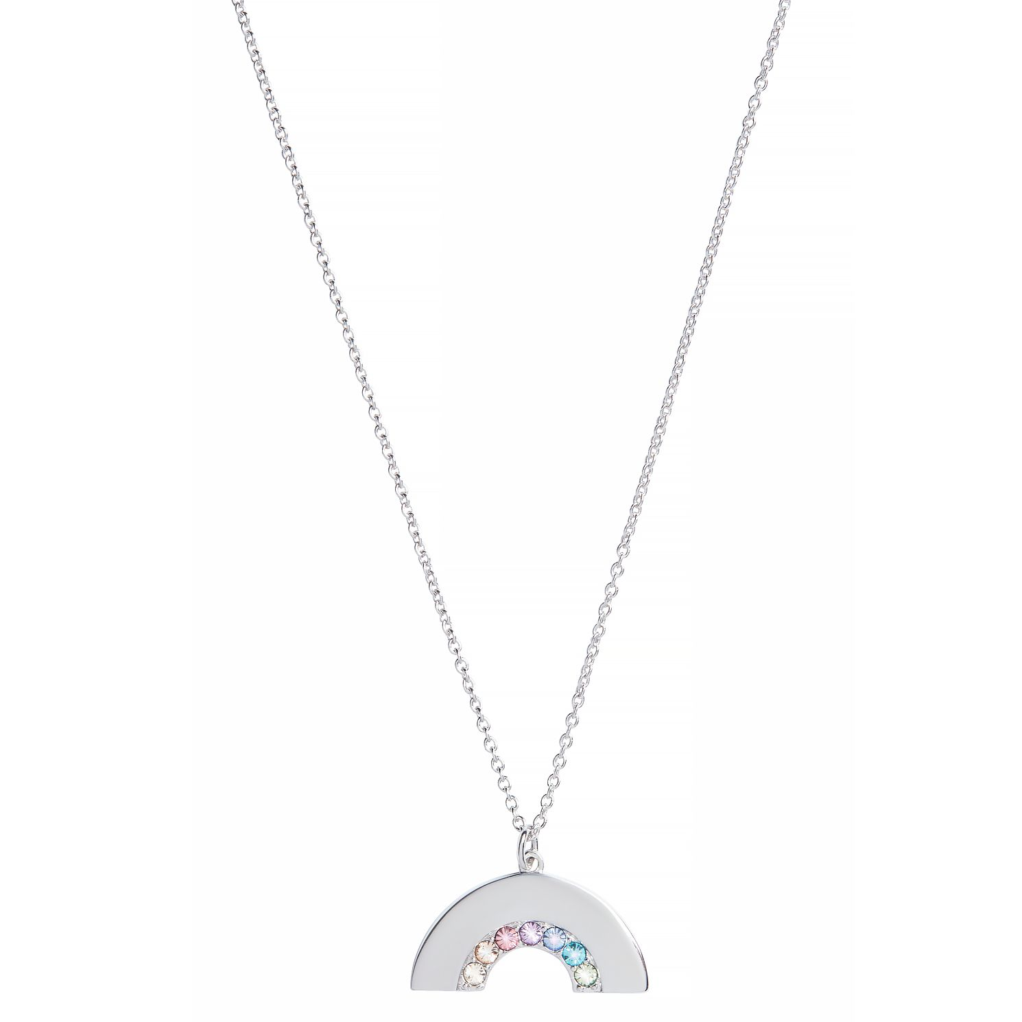 Olivia Burton Rainbow Rhodium Plated Pendant - Product number 8204985