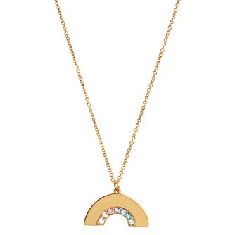 Olivia Burton Rainbow Yellow Gold Tone Pendant - Product number 8205027