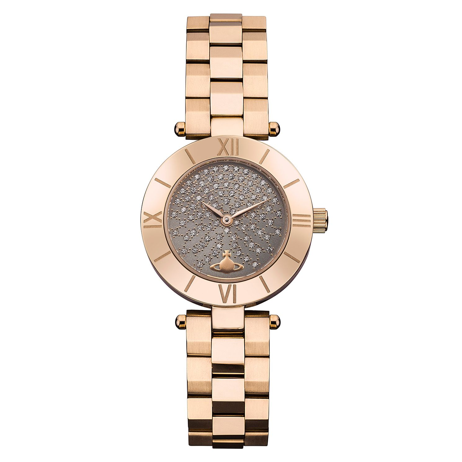Vivienne Westwood Westbourne Ladies' Rose Gold Tone Watch - Product number 8208352