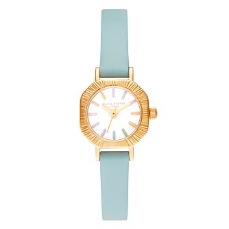 Olivia Burton Rainbow Ladies' Turquoise Leather Strap Watch - Product number 8208816