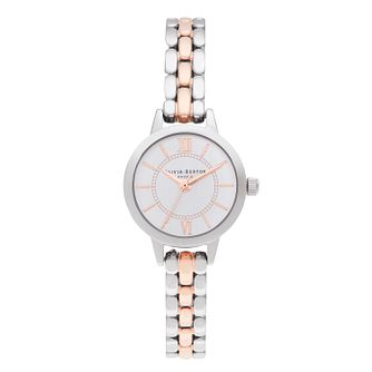 Olivia Burton Wonderland Two Tone Bracelet Watch - Product number 8208921