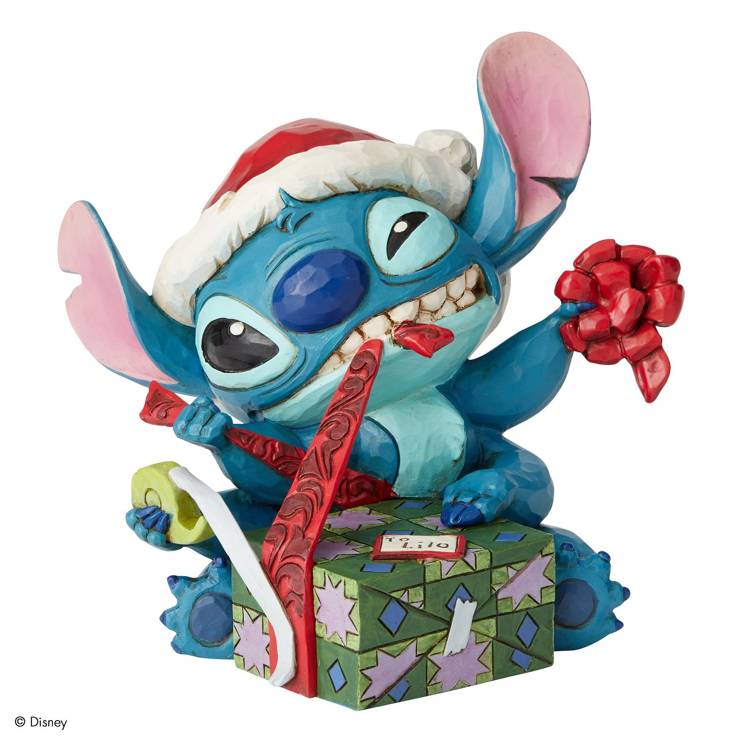 Disney Traditions Stitch Bad Wrapping Figurine - Product number 8213259