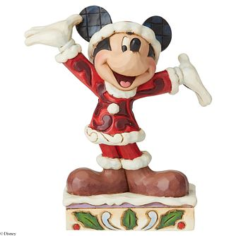 Disney Traditions Mickey Mouse 'A Splendid Season' Figurine - Product number 8213429