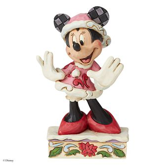 Disney Traditions Minnie Mouse Festive Fashionista Figurine - Product number 8213437