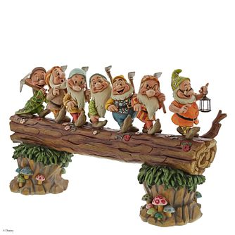 Disney Traditions Seven Dwarfs Heigh Ho Log Musical Figurine - Product number 8213518