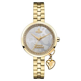 Vivienne Westwood Bow II Ladies' Yellow Gold Tone Watch - Product number 8215928
